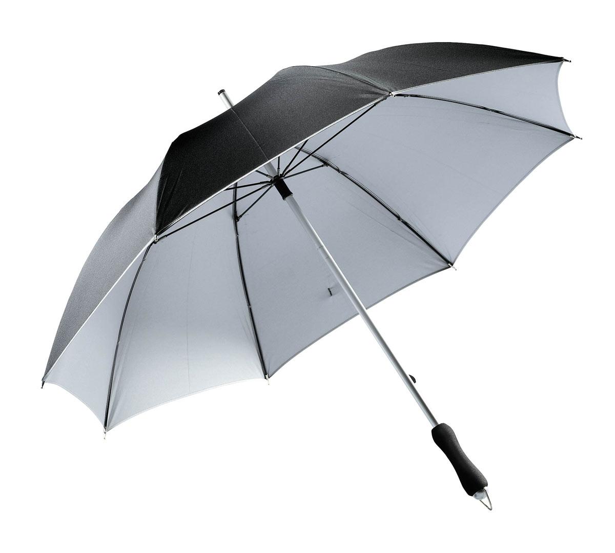 parasols publicitaires parapluie bi color - Parapluie Color