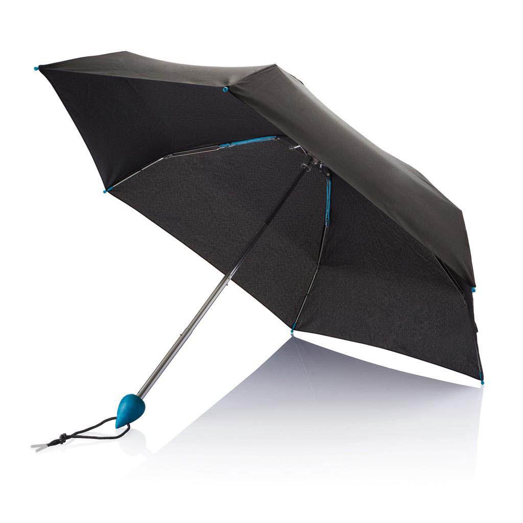 parapluie de poche en metal personnalise. Black Bedroom Furniture Sets. Home Design Ideas
