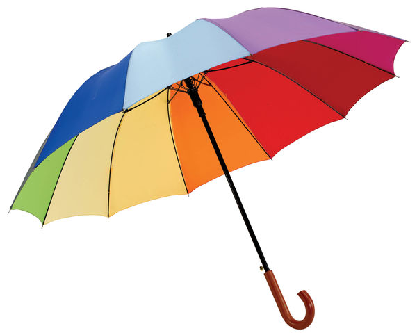 Grand Parapluie Multicolore Personnalise Multicouleurs