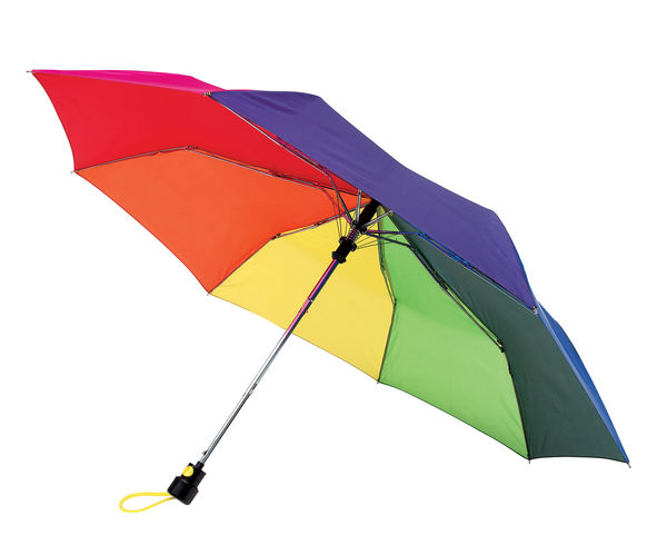 Parapluie Pliant Automatique Promotionnel Multicouleurs