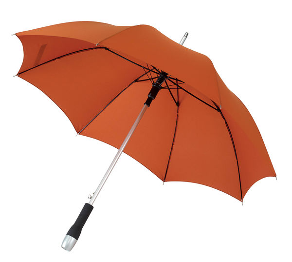 Parapluie poignee devissable Orange