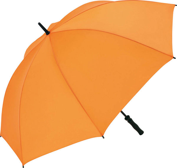 Parapluie publicitaire evenement Orange