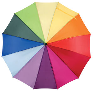 Grand Parapluie Multicolore Personnalise Multicouleurs 1