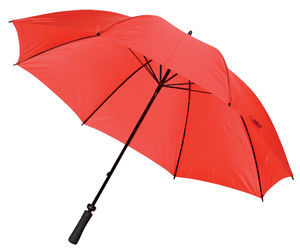 Grand parapluie publicitaire Golf Rouge