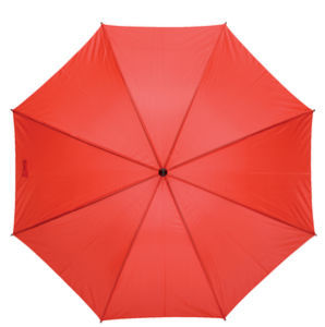 Grand parapluie publicitaire Golf Rouge 1