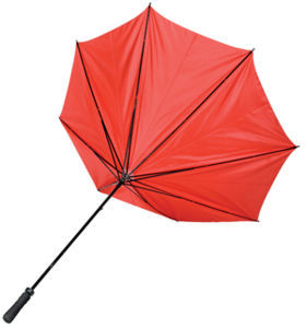Grand parapluie publicitaire Golf Rouge 2